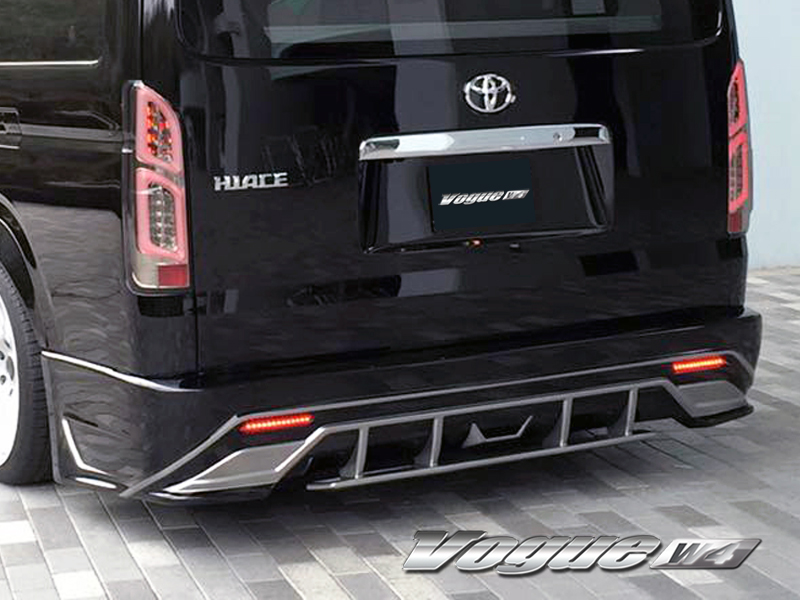 SECONDHOUSE VOGUE W4 SideStep&RearBumper